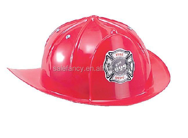 Mucho rojo visera de plástico para sombreros sombrero de bombero niños  plástico motocicleta ... ef2a45626d53