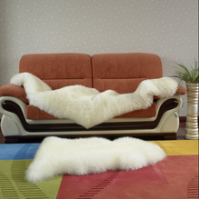Customized Australia Double long hair exquisite Sheepskin Rug
