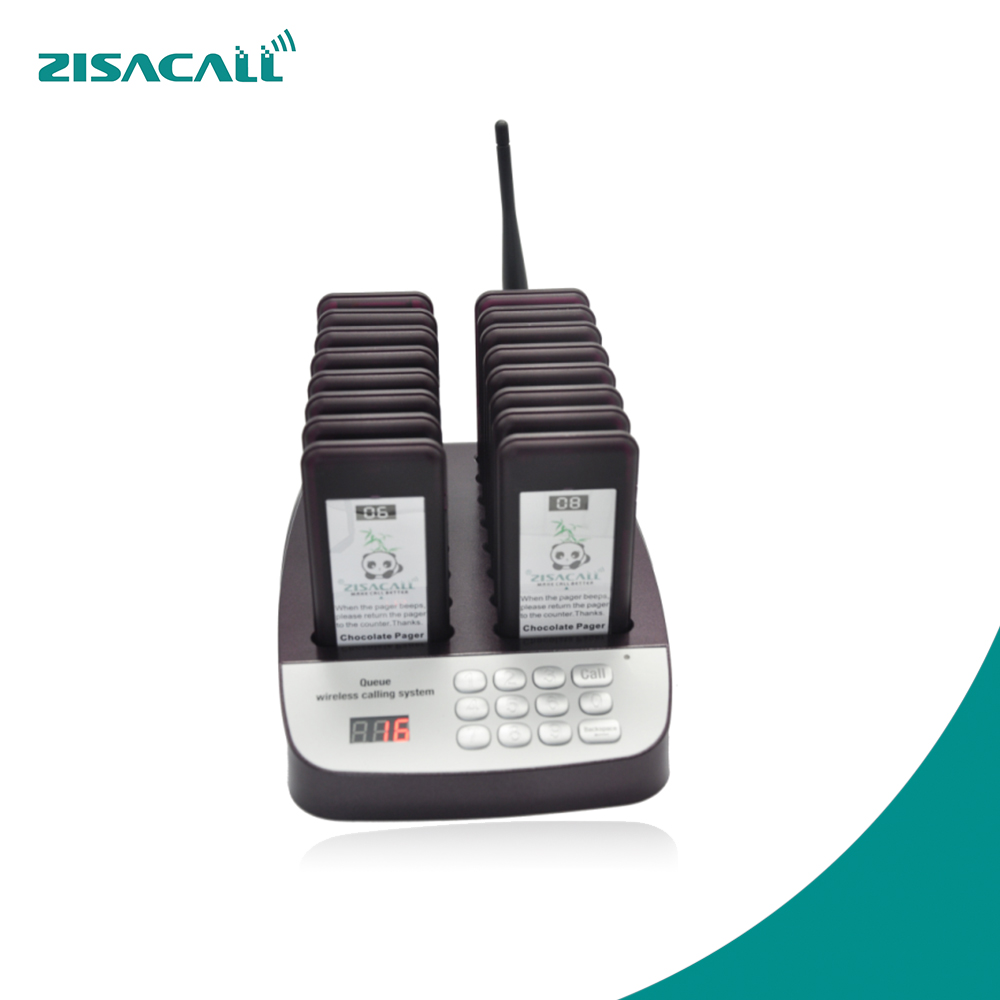 Small Electronic Buzzer Call System Guest Pager For