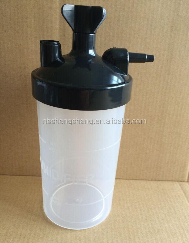 ISO CE Disposable Medical water bottle humidifier