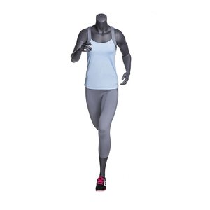 High Quality Fiberglass Sportswear Store Window Display Female Running Athletic Mannequin Sports Dummy NI-11