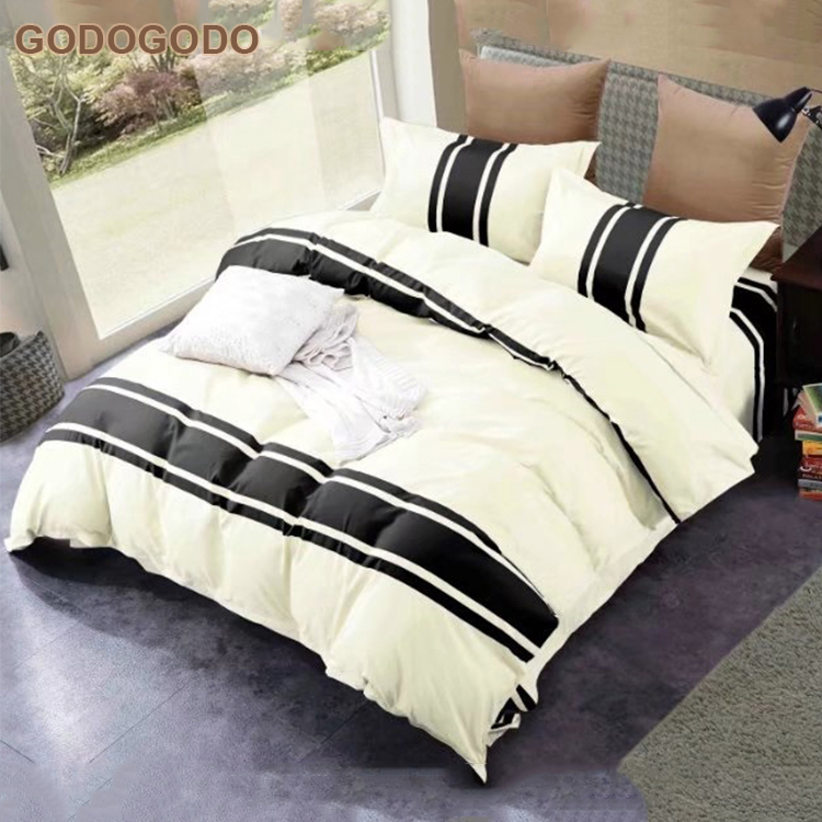 Professional Supply Eco-Friendly Super King Size Bridal Microfiber Bedding China Factory Custom Bedding Sets