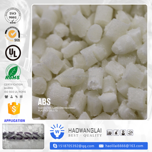 Virgin ABS granules/low price abs plastic resin/pc abs resin V-0 Factory price