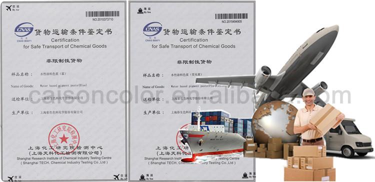 Resin Type Latex Liquid Pigment Dispersion For Coloring - Buy ...