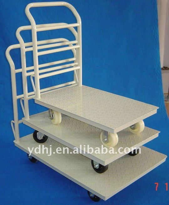Factory Outlet Platform Handtruck with Wheels YD-059