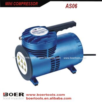 compresor de aire para pintar. 1/4hp mini compresor de aire portátil para pintar r
