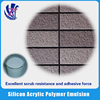 Excellent compatibility Silicon Acrylic Polymer Emulsion for building coating