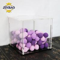 JINBAO factory wholesale acrylic golf ball display case ball display stand
