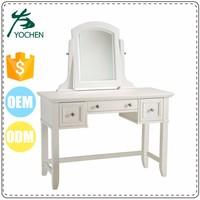 Luxury bedroom furniture set old dresser with mirror