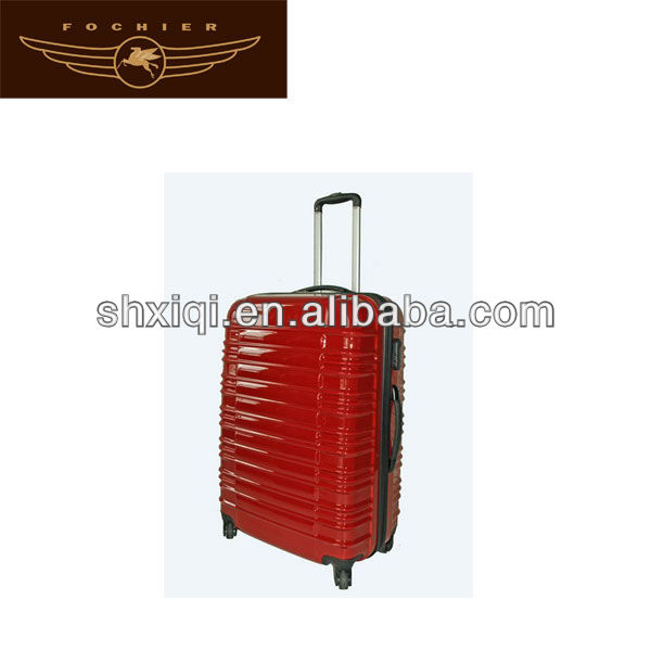 abs travel luggage 2014 oversize trolley suitcase