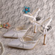 (20 Colors) 100% White Bridal Wedding Pumps Shoes