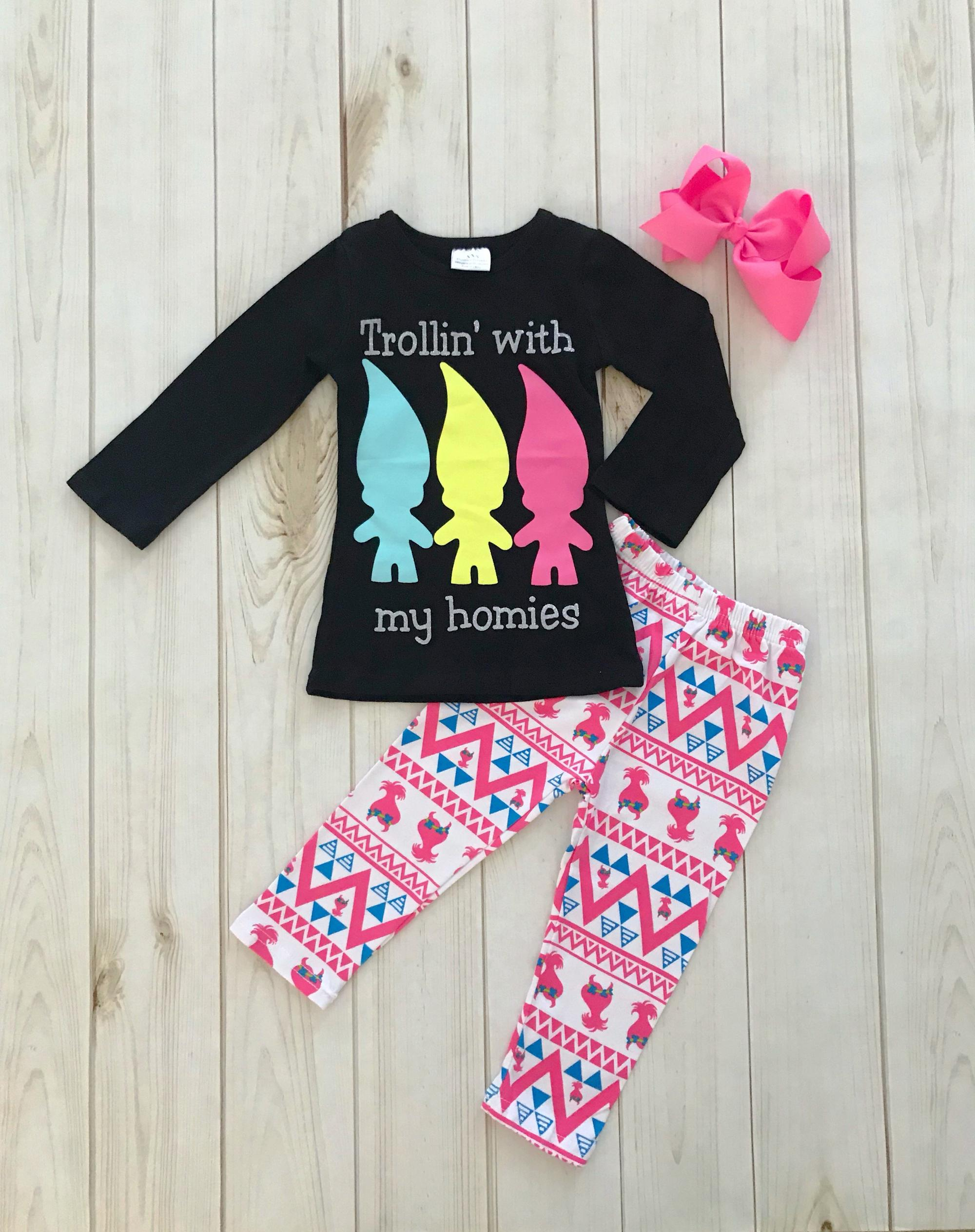 hot sale fall winter baby girls cotton children clothes wholesale  children s boutique clothing girls fall outfit dce6499061