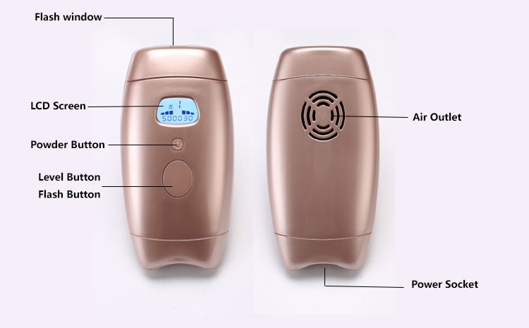 Beauty equipment ipl hair removal home hot dropping
