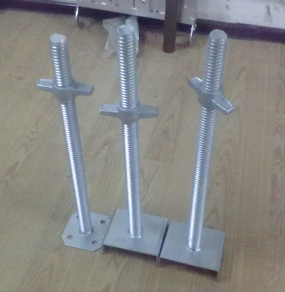 Fixed Screw Jack base Solid Jack Base Thread Plate