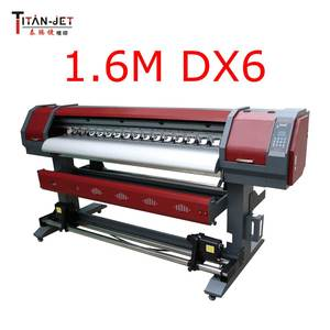 Titanjet 1.6m vinyl printer 1626-R with DX6