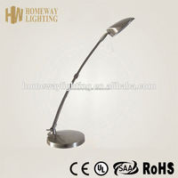 Most popular in Europe market dimmable wall mount desk lamp red ROHS approval/ touch sensor led G9 iron table lamp