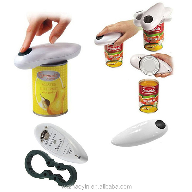 One Touch Safety Automatic Electric Can Opener
