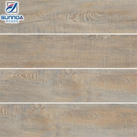 bangladesh high quality anti-skidding decorative wooden finish ceramic tiles for living room in foshan