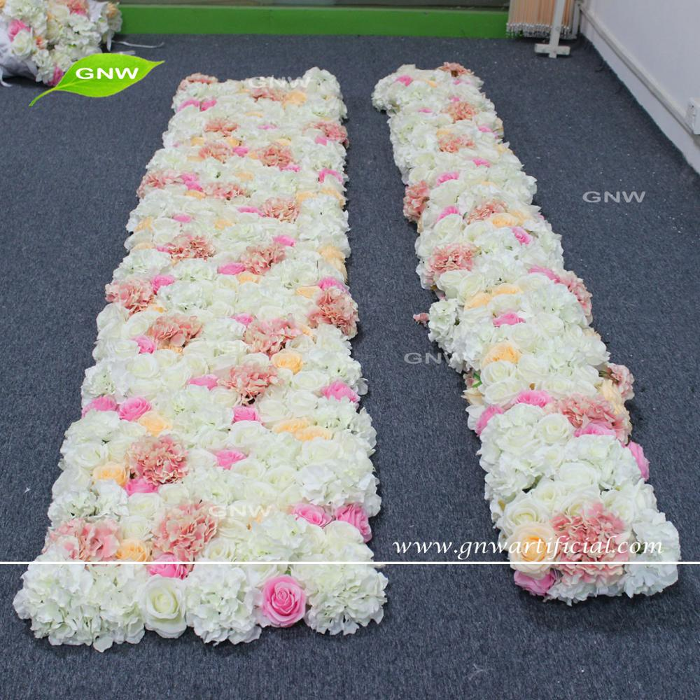 Gnw Flw1707008 Artificial Flower For Wall Decoration Indian Wedding Garland Silk