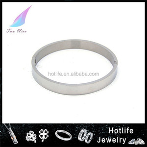 professional supplier 316L stainless steel for women 2016 sexy bangle