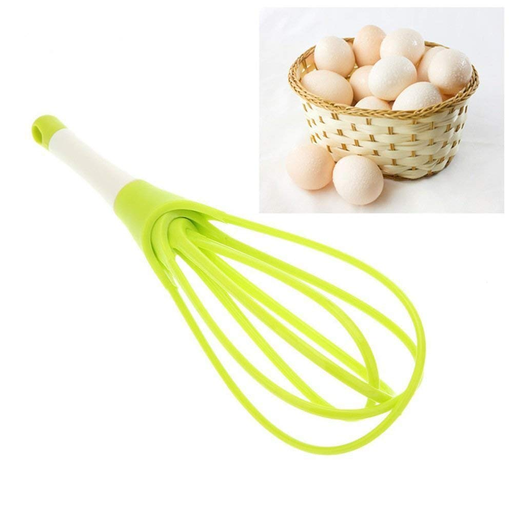 Egg Beater, SHENYUN Manual Egg Beaters Whisk Egg Mixer Milk Cream Butter Mixer Stiring Tool Kitchen Tool(Random Color)