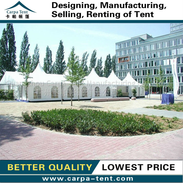 White Tarpaulin Fabric Pagoda Marquees For Wedding Events,White ...