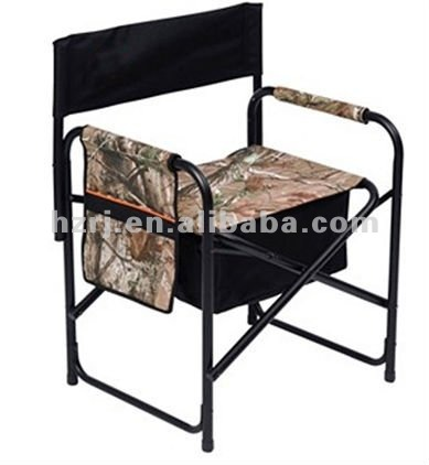 hunting director chair with Padded arm rests
