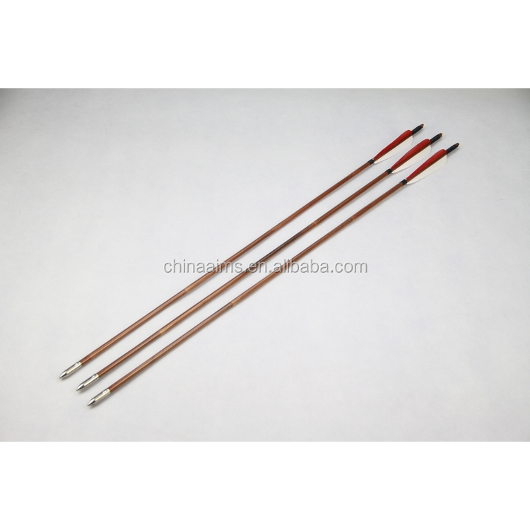 Aims China Best Price Archery Tools Bamboo Arrows For Longbows Recurve Bows  - Buy Archery Tools,China Archery Arrows,Arrows For Longbows Product on