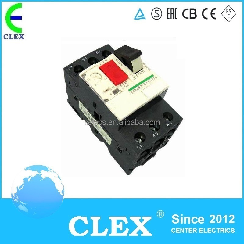 GV2 4~6.3A Motor Protection Switch/Motor Protection Circuit Breaker
