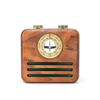 classic design portable wireless bluetooth speaker with radio