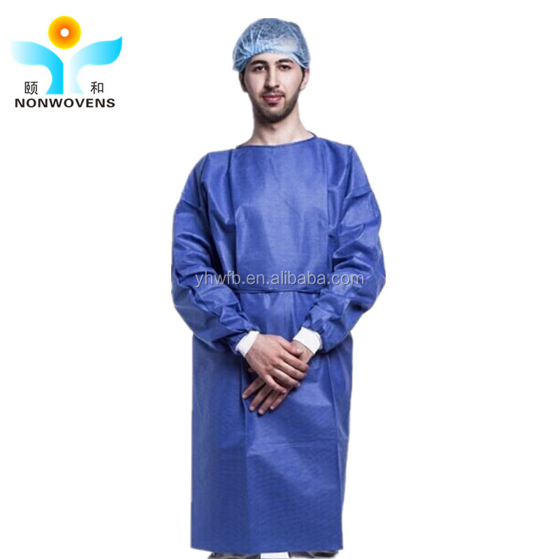 Hospital Doctor Sterile Protective Surgical doctor Clothing Sms Gown Quality Surgeon Gown - Disposable Buy High