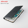Universal luxury leather and TPU cover phone accessories case custom with wallet card slots for iphone 7 7plus