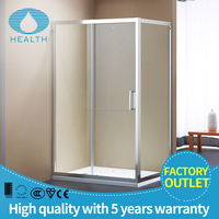 6mm Glass Bath Room, Sliding Bathroom Shower, Reversible Small Shower Room JP6201A