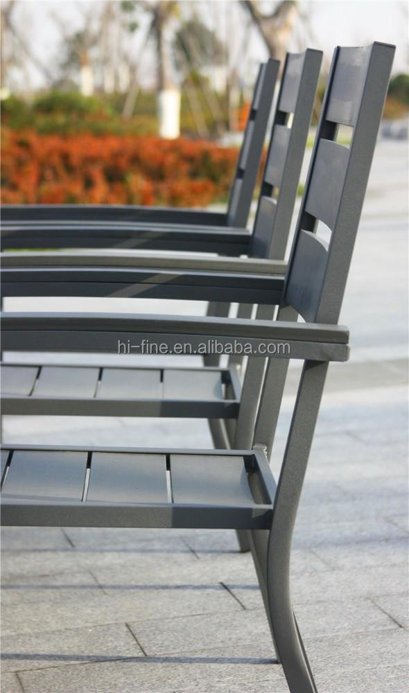 alluminio mobili polywood estensione tavoli e sedie set di mobili ... - Sala Da Pranzo Tavolo E Sedie Estensione