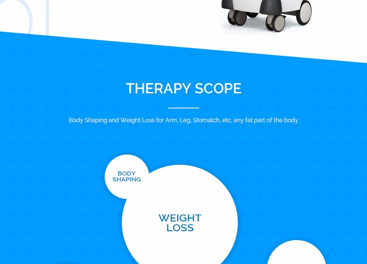 safety and effective body shape professional slimming machine