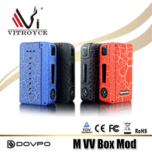 2017 trending products mech m vv 280w mechanical mod vape from dovpo VS rogue 100w box mod