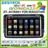 ZESTECH android car dvd player gps for SKODA Octavia II/III 2014 lastest pure android 4.2.2 with audio video player navis