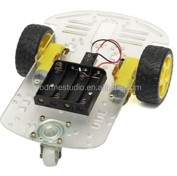 2WD Smart Robot Car Chassis Kit FAI DA TE