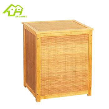 Badezimmerschrank bambus  Bambus Kleine Badezimmerschrank Für Handtücher Lagerung,Wäschekorb ...
