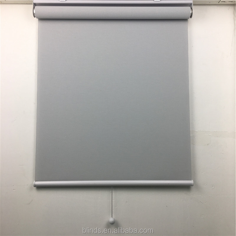 Newest Style Blackout Spring System Loaded Retractable Roller Blinds