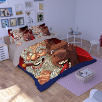 Kids bed bedding sets queen comforter bedding set pvc bags