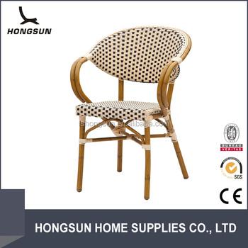 Modern bamboo blick stapelbar outdoor garten rattan stuhl - Outdoor stuhle stapelbar ...
