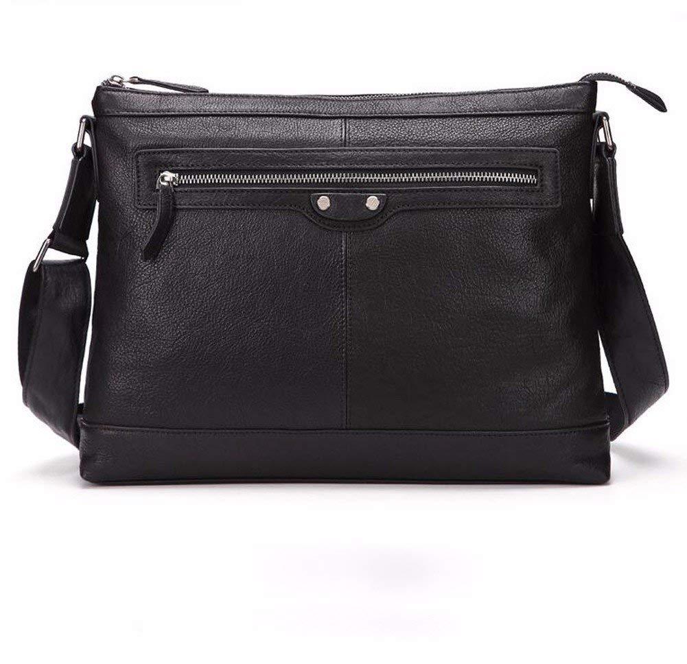 20a8cee9e89d Buy NHGY Mens pure color satchel, 13 inch horizontal shoulder bag ...