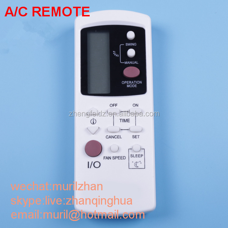 White 19 Big Buttons Air Conditioner Remote Control For Samsung With  English Print,Korean Rubber  korean Panel Print  Korean - Buy Air  Conditioner