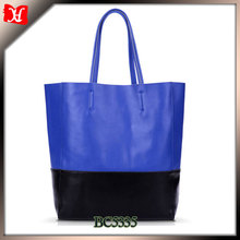 Women New Fashion Striped Simple and fashion PU Leather Handbags, Big Shoulder Bags, Casual Tassel Solid Totes