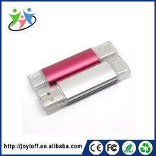 Alibaba Express Dual Double Plug Interface Otg Mobile Phone Pc Cheap Pen Drive Direct From China Usb 2.0
