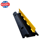 industrial rubber cable cover ramp for flooring safety