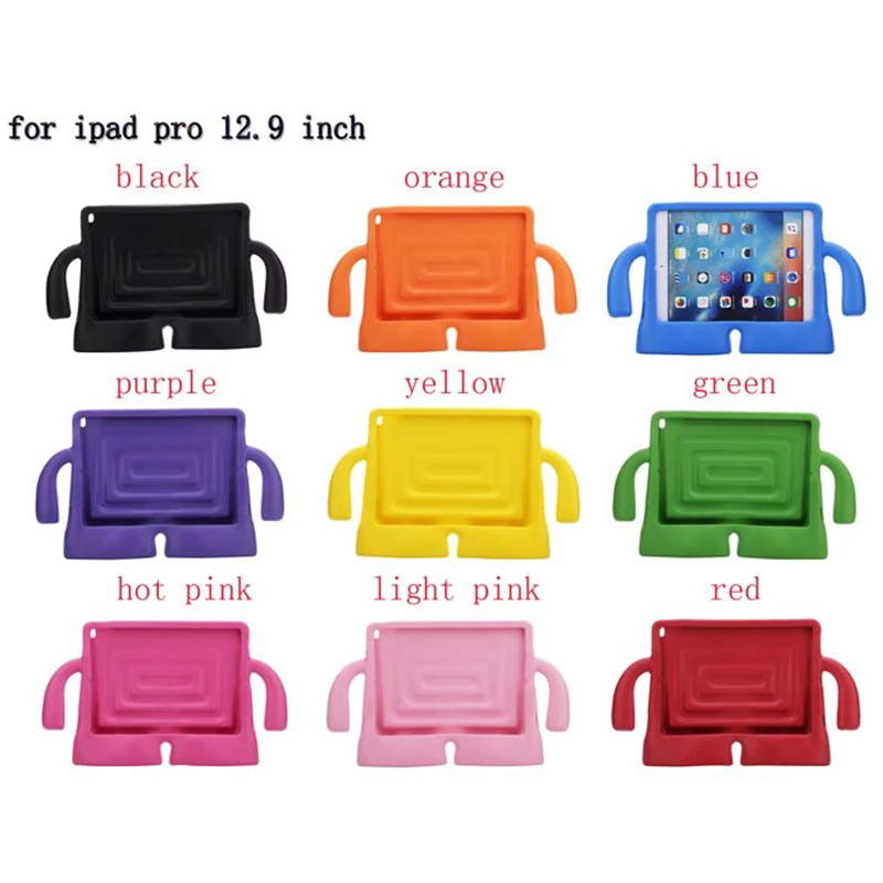 "Kids environmental EVA foam shockproof stand tablet cover case for <strong>iPad</strong> Pro 12.9"" with handle"