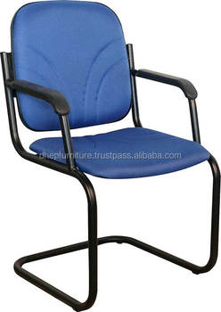 Ordinaire Office Metal Banquet / Visitor Chair With Cushion Seat