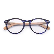 Женские и мужские очки Hu wood, винтажные очки с круглыми прозрачными линзами GR6001(Китай)